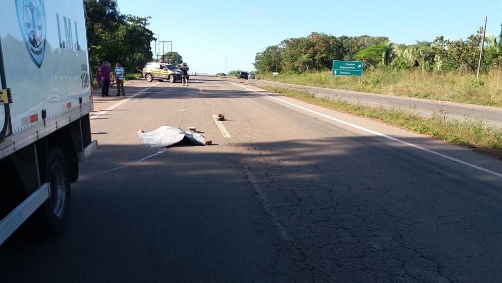 Raimundo de Jesus Corrêa Vilela, de 36 anos, foi atropelado por um ônibus ao voltar de uma festa (Foto: Divulgação/PRF)