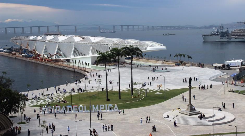 Praça Mauá, no Rio de Janeiro (Foto: Wikicommons)
