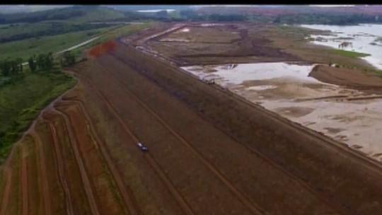 Uma das barragens de Tapira recebe declaração de estabilidade e Araxá segue paralisada
