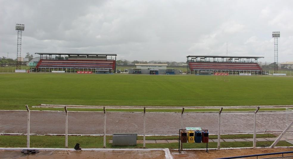 Estádio Portal da Amazônia em vilhena, RO — Foto: Larissa Vieira