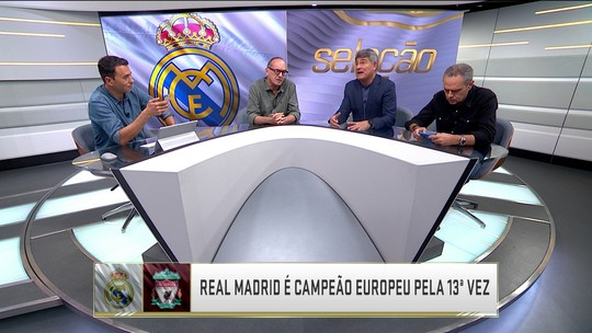 Comentaristas questionam se teria algum time brasileiro capaz de encarar o Real Madrid