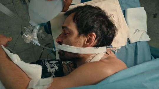 Carolina tenta salvar a vida de Evandro após overdose e acidente de trânsito