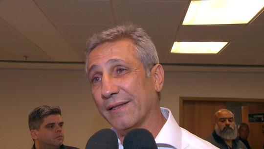 Opinião: justificativa para saída de Valentim mostra falta de convicção da diretoria do Vasco