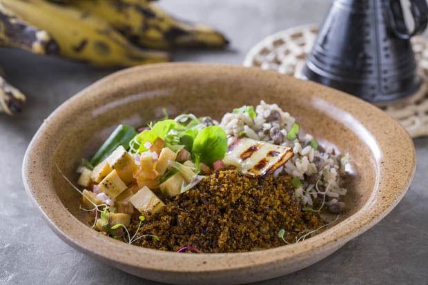 Receita: paçoca de carne de sol com baião de dois cremoso do Fitó (Foto: Mario Rodrigues)