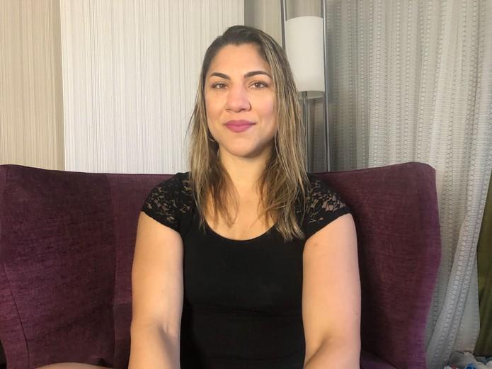 Bethe Correia deu sua versão sobre o cancelamento da luta contra Irene Aldana (Foto: Evelyn Rodrigues)