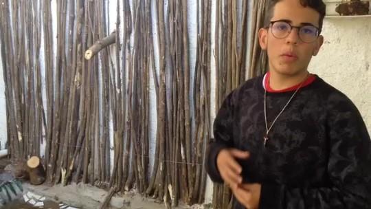 Alunos de escola pública do DF usam materiais reciclados para revitalizar espaços
