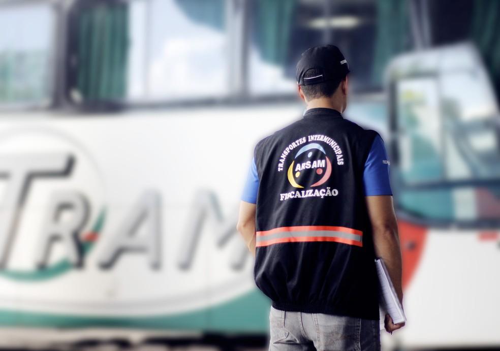 Veículos com mais de oito passageiros a taxa será de R$ 55 (Foto: Divulgação/Arsam)