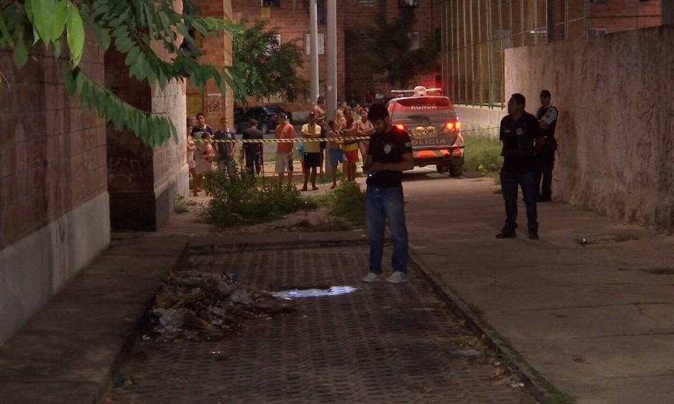 Setenta jovens foram assassinados no Ceará no 1º semestre de 2019 — Foto: TV Verdes Mares/Reprodução