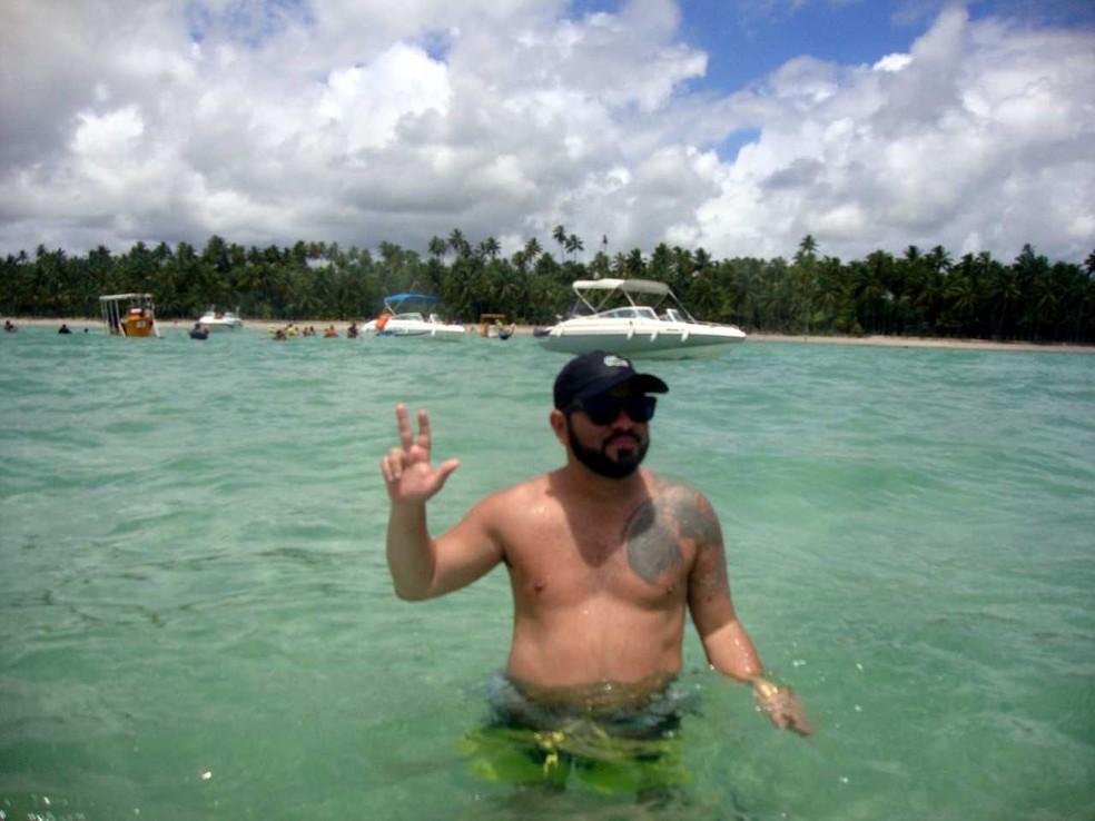 Didi morava em Alagoas há menos de um ano (Foto: Polícia Civil/ Divulgação)