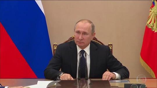 Russos prometem retaliação após medidas impostas pelo Reino Unido