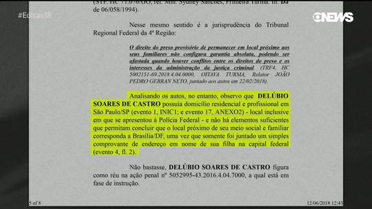 Justiça determina transferência de Delúbio de SP para Curitiba