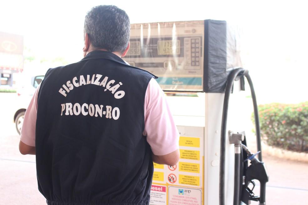 Procon está realizando vistoria nas duas cidades (Foto: Júnior Freitas/G1)