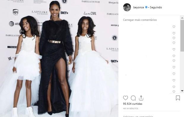 Beyoncé lamenta morte de Kim Porter (Foto: Reprodução/Instagram)
