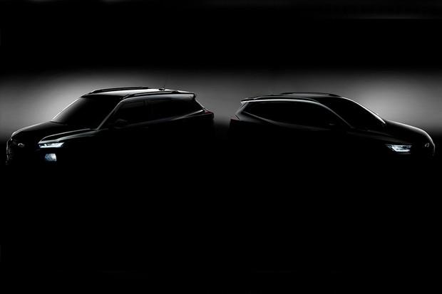 Chevrolet mostra um pouco do novo Tracker e Traiblazer (Foto: Divulgação)