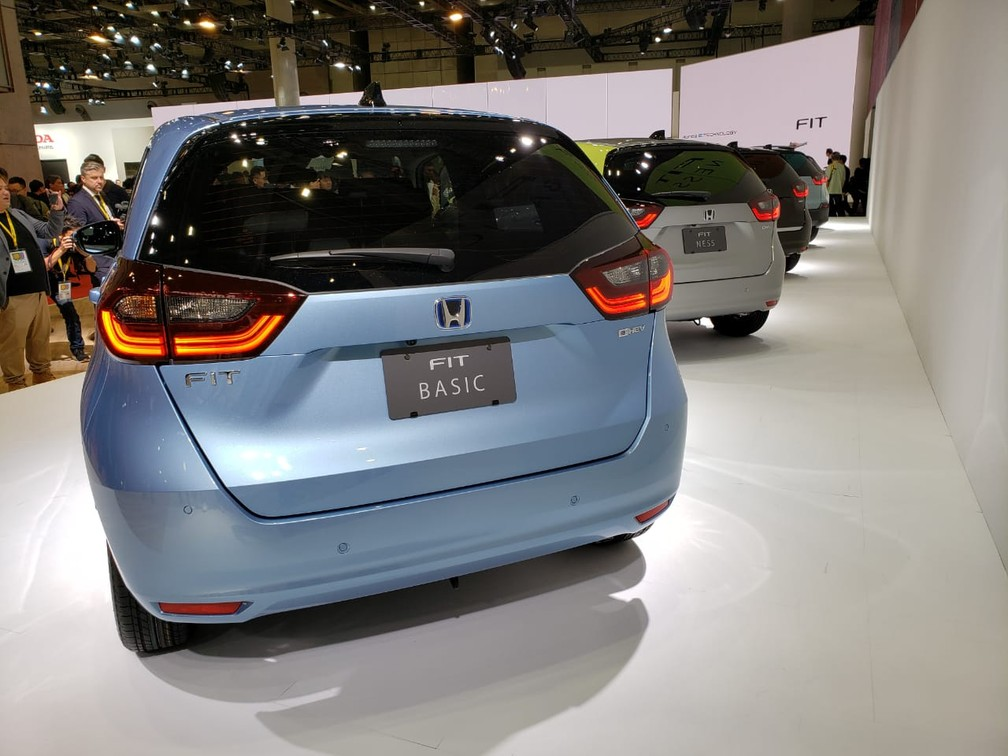 Novo Honda Fit — Foto: Rafael Miotto/G1
