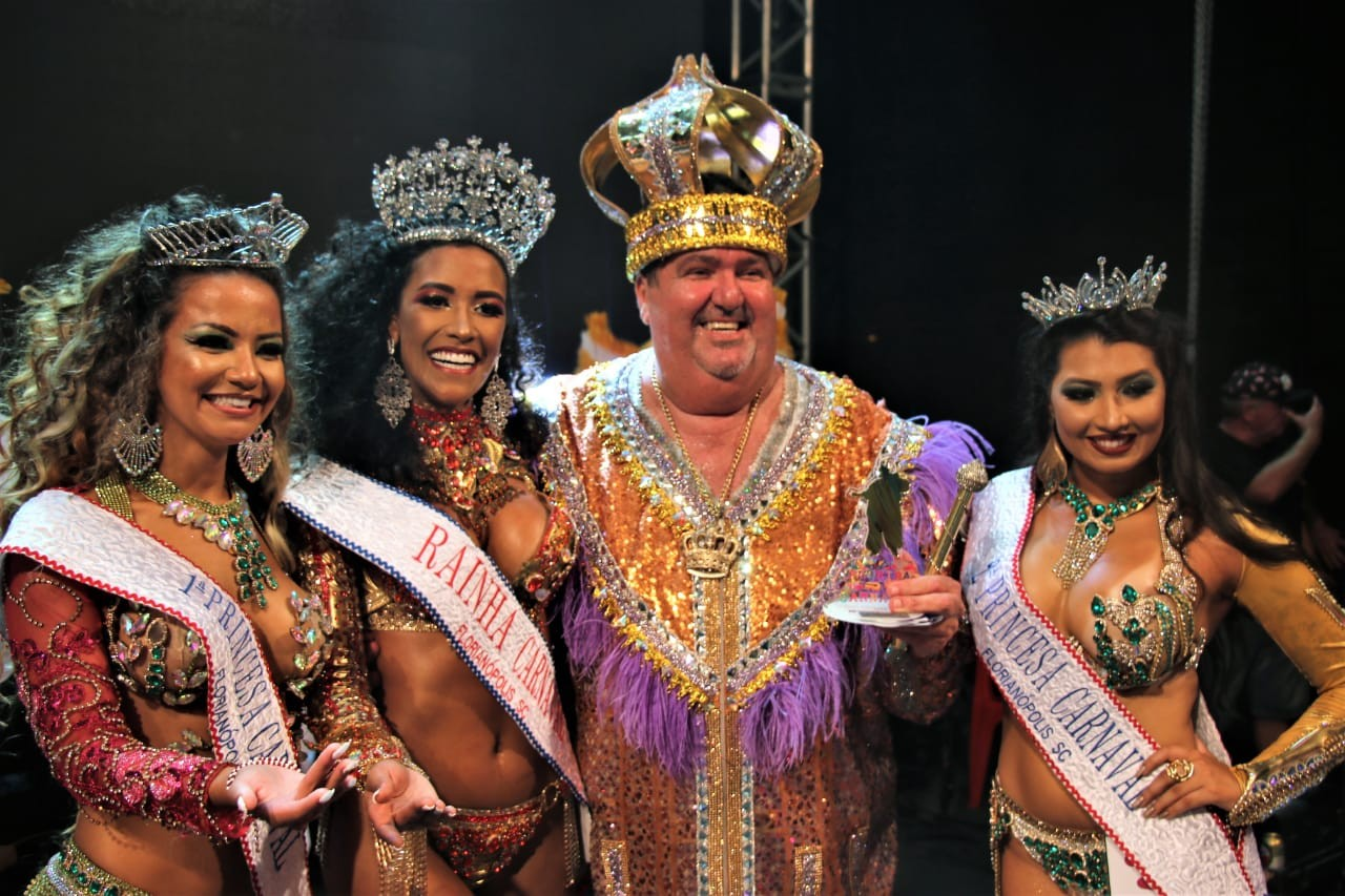 Corte do carnaval 2019 é escolhida em Florianópolis