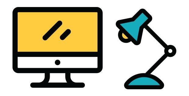 Escritório organização computador (Foto:  )
