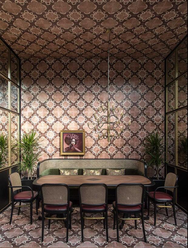 Décor do dia: sala de jantar inspirada na Era do Jazz