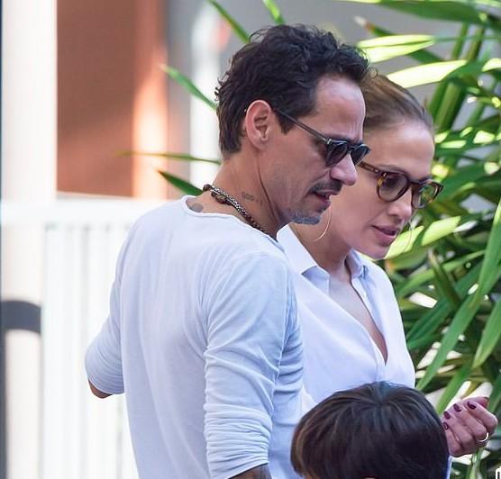 Jennifer Lopez e Marc Anthony (Foto: Reprodução Instagram)