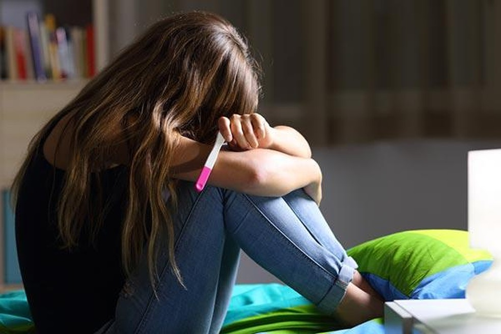 Gravidez na adolescência foi um dos casos que apareceram em grande número nos dados do Conselho Tutelar — Foto: SBP/Divulgação
