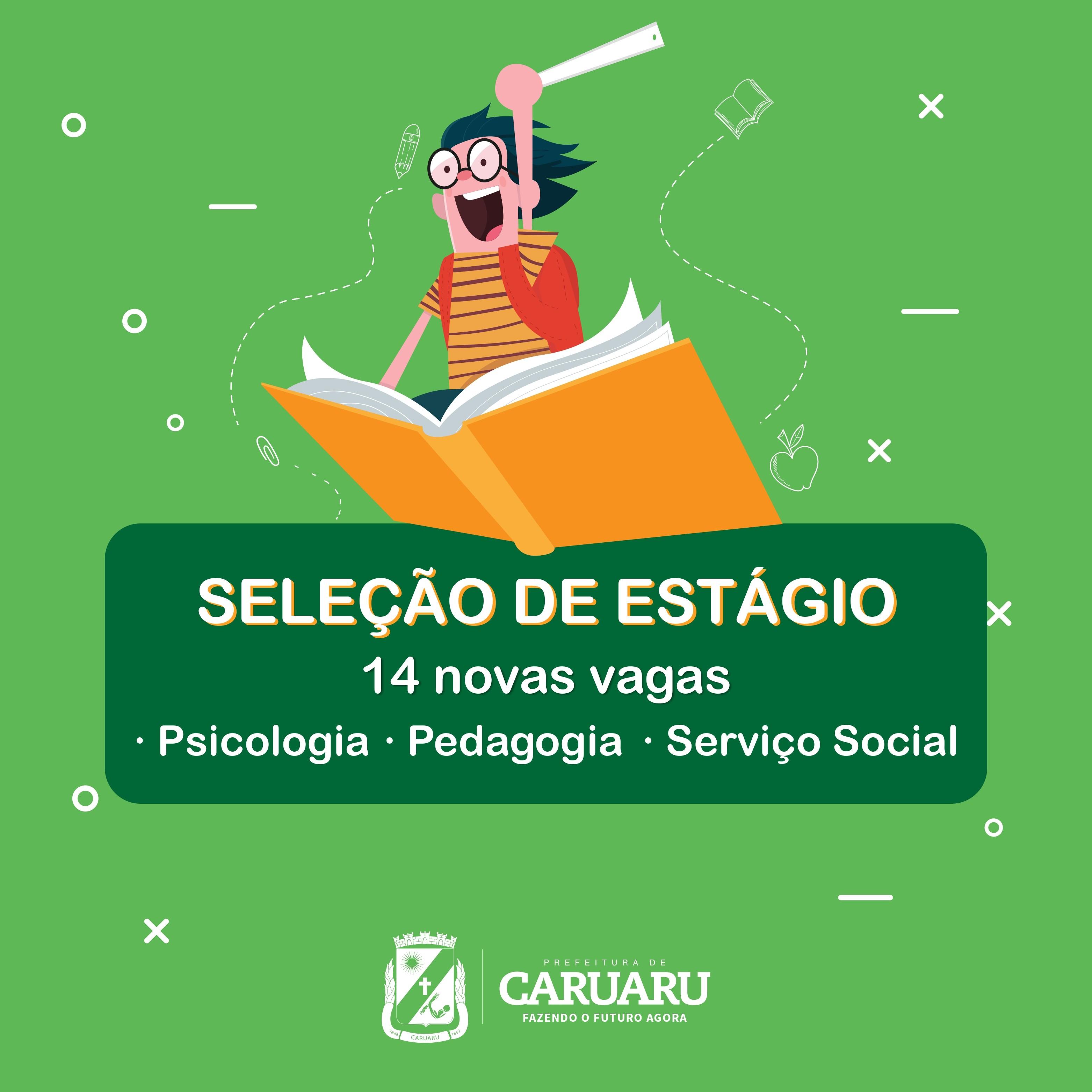 Prefeitura de Caruaru lança seleção de estágio