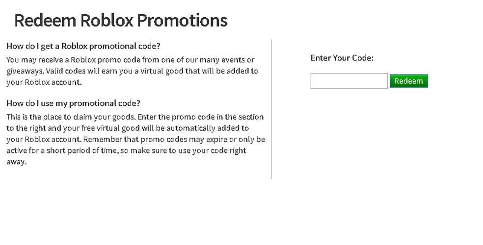 Roblox: veja lista com promo codes para o jogo e aprenda a