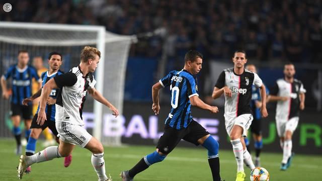 De Ligt em ao pela Juventus contra a Inter