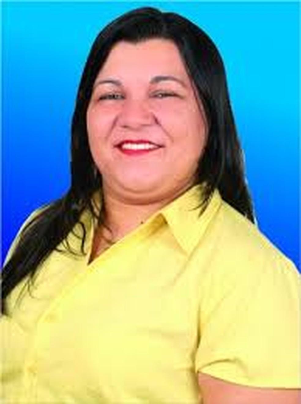Maria Lucia Porto, reeleita prefeita de Conquita D'Oeste — Foto: Divulgação