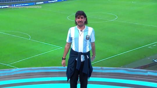 "Soy Loco por Copa América: ""hermano Adnet"" chora após vitória do Brasil no Mineirão"