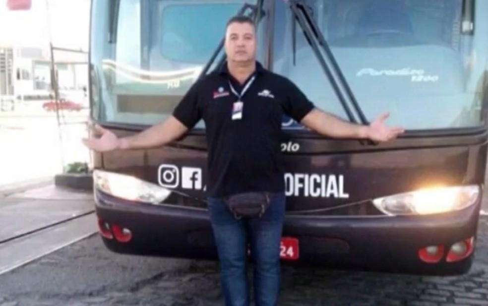Valdoelson Oliveira Silva, de 46 anos, foi ouvido e liberado — Foto: Reprodução/TV Subaé