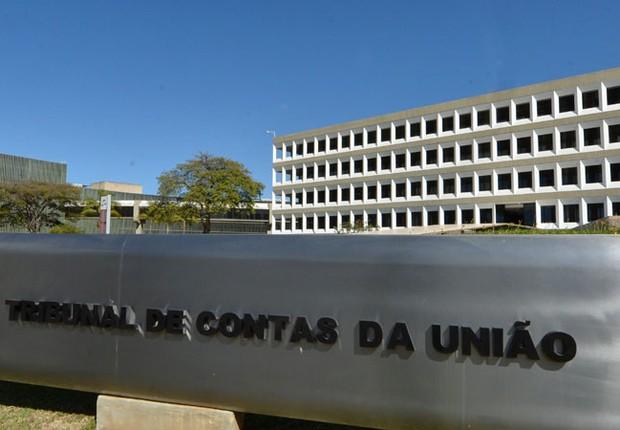 Tribunal de Contas da União (TCU) em Brasília (Foto: Reprodução/TV Globo)