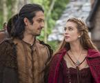 Romulo Estrela e Marina Ruy Barbosa em 'Deus salve o rei' | TV Globo