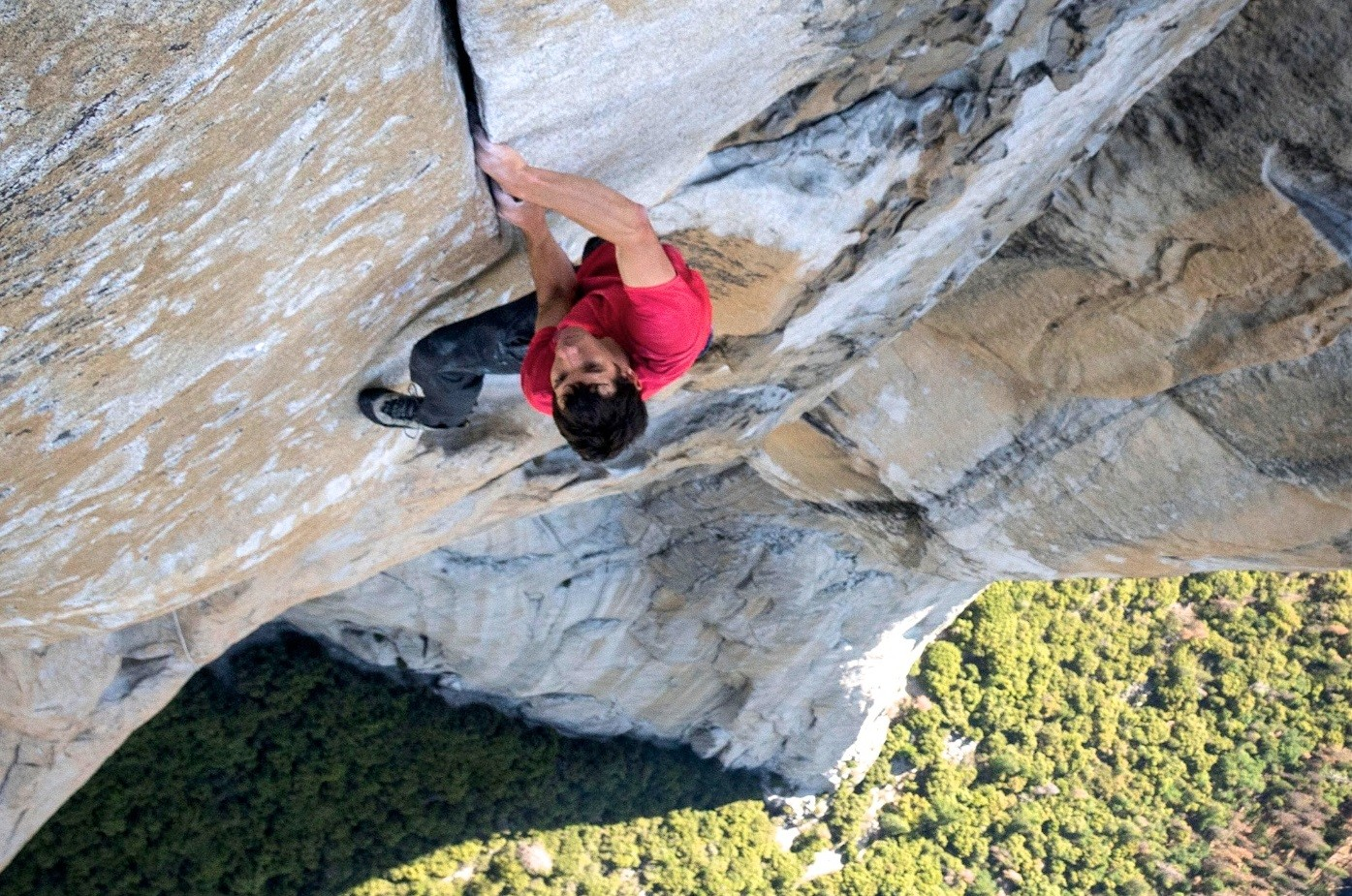 Alex Honnold escalando o El Capitan, nos Estados Unidos (Foto: divulgação)