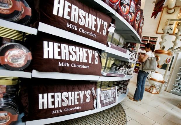 Loja da Hershey's em Nova York (Foto: Shannon Stapleton/Reuters)