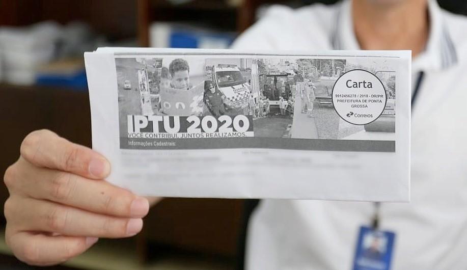 Quase metade dos contribuintes de Ponta Grossa está com IPTU atrasado, diz prefeitura