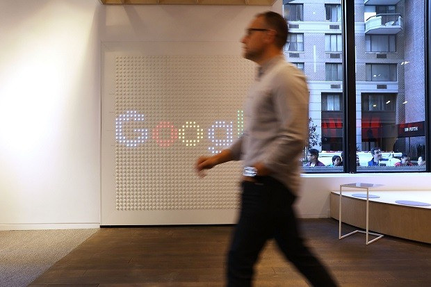Loja pop-up do Google em Nova York (Foto: Spencer Platt/Getty Images)