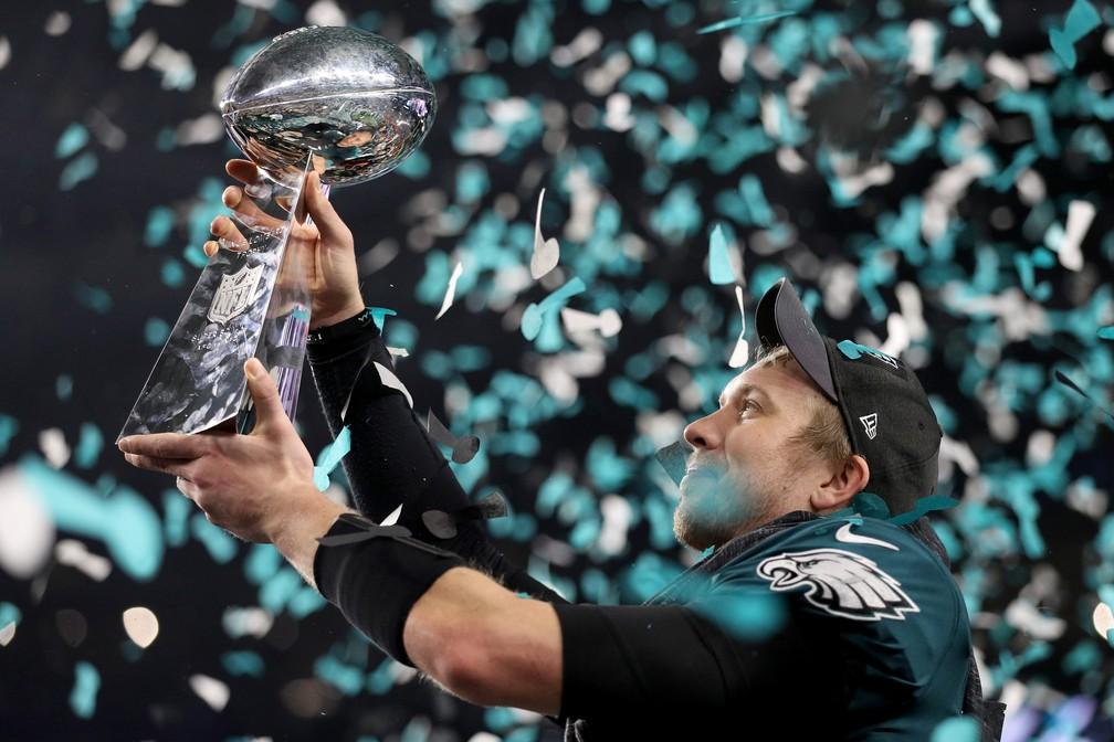 Nick Foles Super Bowl NFL Eagles  (Foto: Patrick Smith/Getty Images)