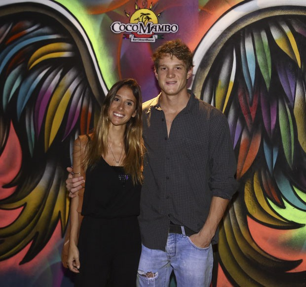 Pedro Novaes e a namorada