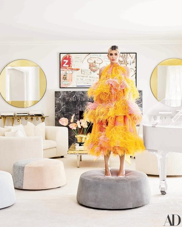 Kylie Jenner abre sua mansão em Los Angeles (Foto: Reprodução Architectural Digest)