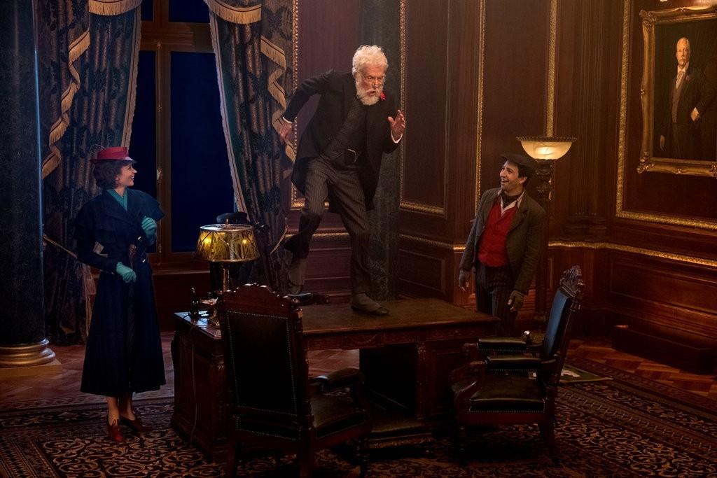 Dick Van Dyke em O Retorno de Mary Poppins (Foto: Divulgação)