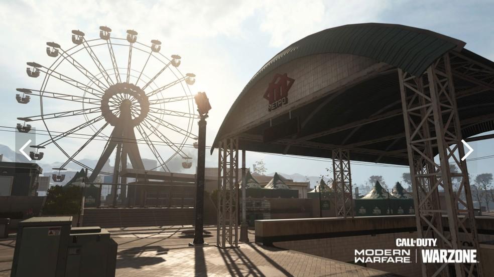 Barakett Shopping District. (Image: Activision)