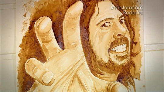 Artista gaúcho utiliza café como tinta em suas ilustrações