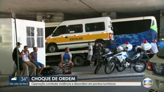 Operação combate violência e desordem em pontos turísticos