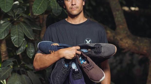 Tênis da Hocks, marca criada pelo empreendedor Ronaldo Figueiredo (Foto: Divulgação)