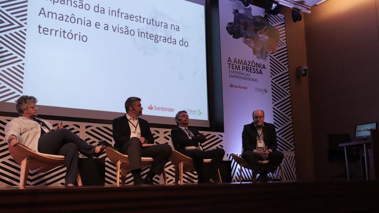 amazonia-infraestrutura-palestra (Foto: Divulgação)