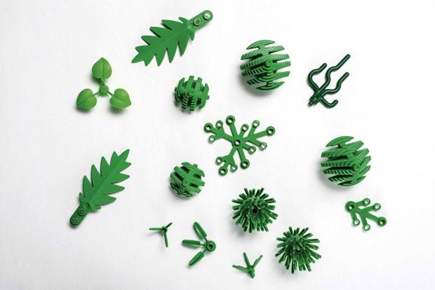 Lego começa a fabricar peças com plástico de cana-de-açúcar (Foto: Divulgação)