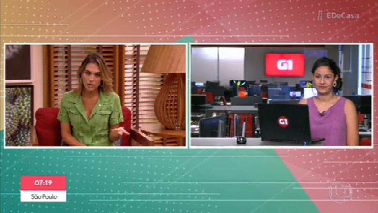 G1 no É de Casa: Araras confirma caso de variante brasileira do novo coronavírus