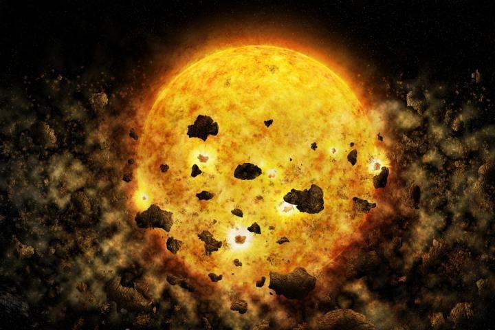 Colisão entre planetas instigou cientistas a pesquisarem mais certa estrela (Foto: NASA/CXC/M.WEISS)