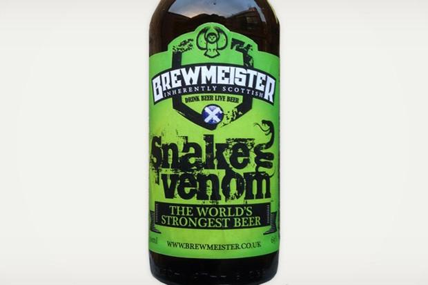 Snake Venom, a cerveja mais forte do mundo (Foto: Divulgação)