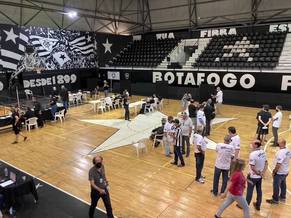 Eleição Botafogo — Foto: Thayuan Leiras